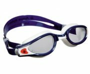 Aqua Sphere Kaiman Exo Clear Lens Swimming Goggles - Blue / White