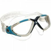 Aqua Sphere Vista Clear Lens Swimming Goggles - White / Blue