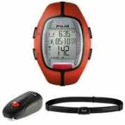 Polar RS300X sd Running Computer with Heart Rate Monitor and Footpod - Orange