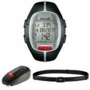 Polar RS300X sd Running Computer and Heart Rate Monitor and Footpod - Black