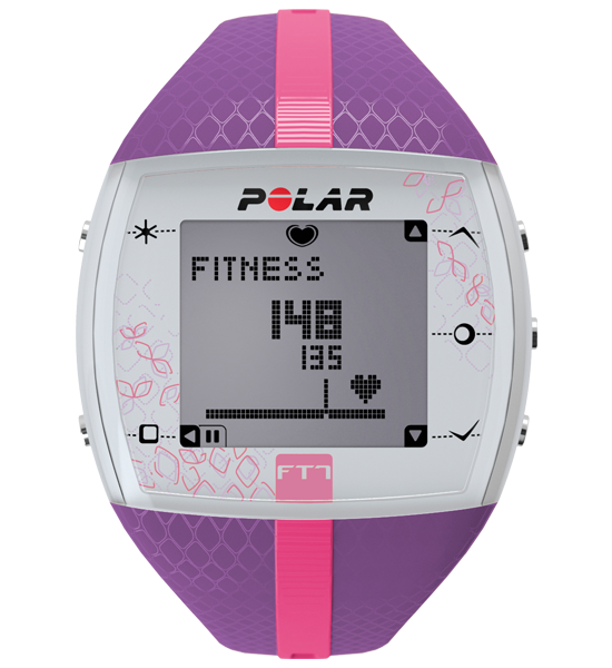 Polar FT7 Fitness Watch with Heart Rate Monitor - Lilac / Pink