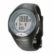 Soleus Pulse Watch with Heart Rate Monitor - Grey/White