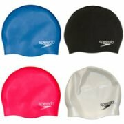 Speedo Plain Moulded Silicone Swimming Cap