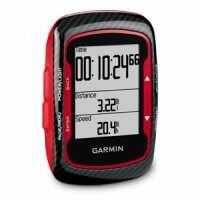 Garmin Edge 500 Cycle Computer - Red and Black - with GPS, HRM & Cadence
