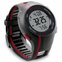Garmin Forerunner 110 GPS Heart Rate Monitor Watch Black Red