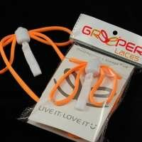 Greeper Sports Laces Orange