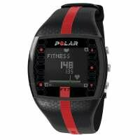 Polar FT7 Heart Rate Monitor - Black and Red