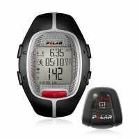 Polar RS300X G1 Heart Rate Monitor with GPS Speed & Distance - Black