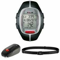 Polar RS300X sd Running Computer and Heart Rate Monitor - Black