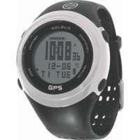 Soleus GPS FIT 1.0 Watch Black and White