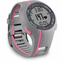 Garmin Forerunner 110 GPS Heart Rate Monitor Watch Pink Grey