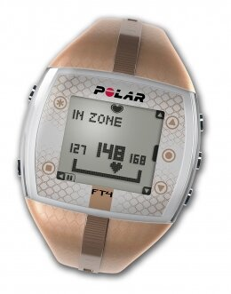 Polar FT4 Heart Rate Monitor - Female (Ladies) - Bronze