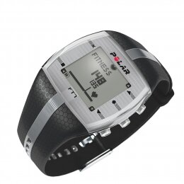 Polar FT7 Heart Rate Monitor - Training Computer - Male - Black - Silver