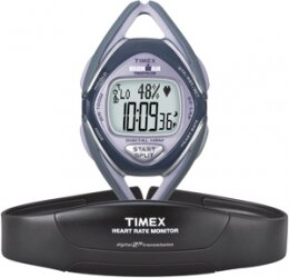 Timex Ironman Race Trainer Mid Size 50-Lap Digital Heart Rate Monitor