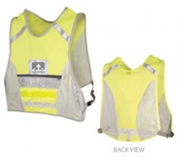 Nathan High Visibility Reflective LED Running & Cycling Vest