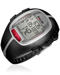 Polar RS300X Running Computer & Heart Rate Monitor - Black